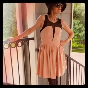 Forever 21 Peach Party Dress